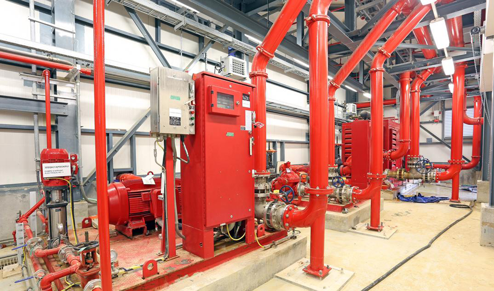 Improve Industrial Fire Safety System
