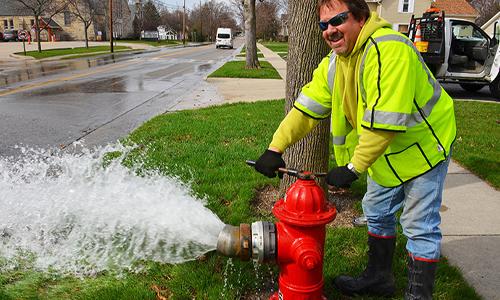 Wet Barrel Hydrant